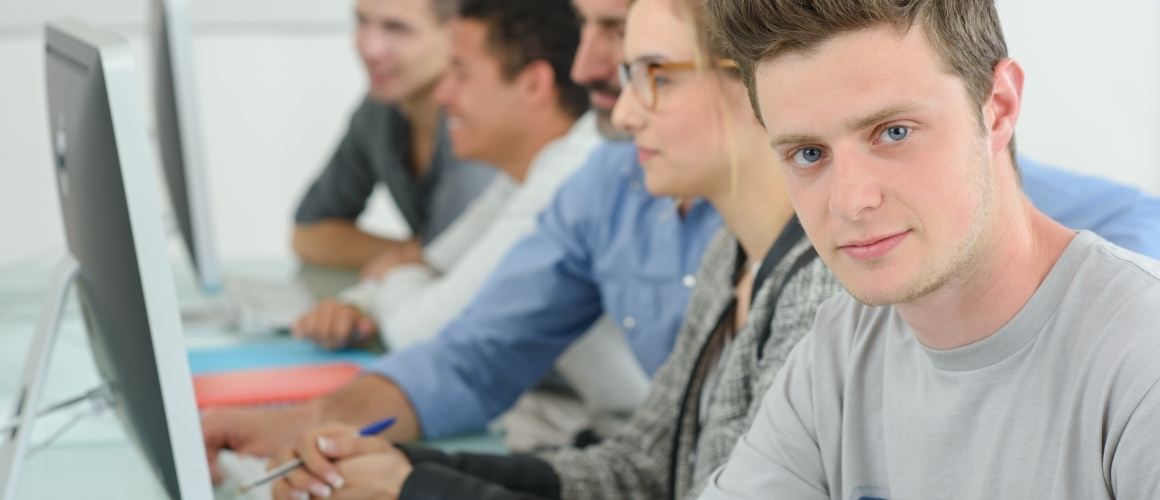 Student Sergej volgde een training ter inspiratie