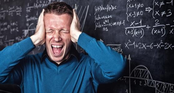 Docent Steven had stress tijdens het lesgeven