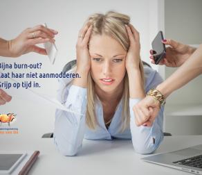 Oplossing voor werknemers met dreigende burn-out klachten