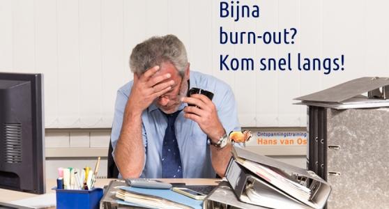 Bijna een burn-out preventief verholpen
