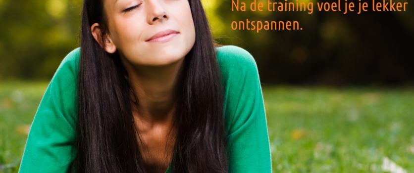 Oefening Lichaamsontspanning: je raakt er nog relaxed door ook.